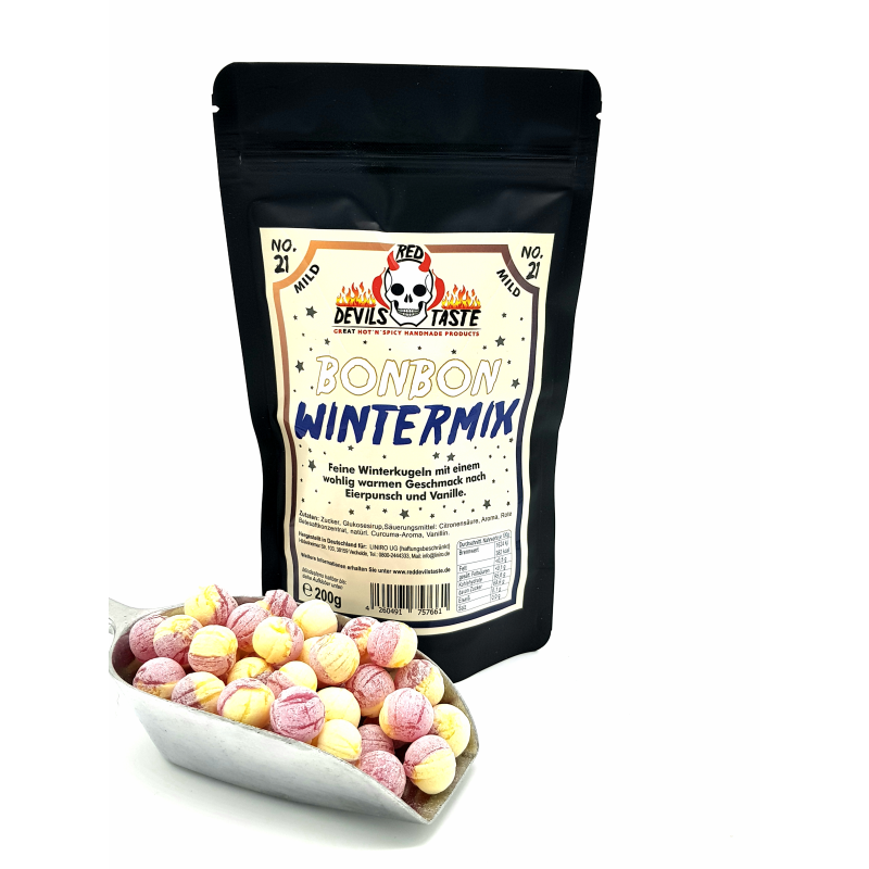 Winter Mix - mild - 200g - Hotskala: 0 - RED DEVILS TASTE